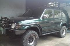 Toyota 90 Prado v ironman 4x4