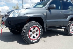 Toyota 120 +2 инча ironman 4x4